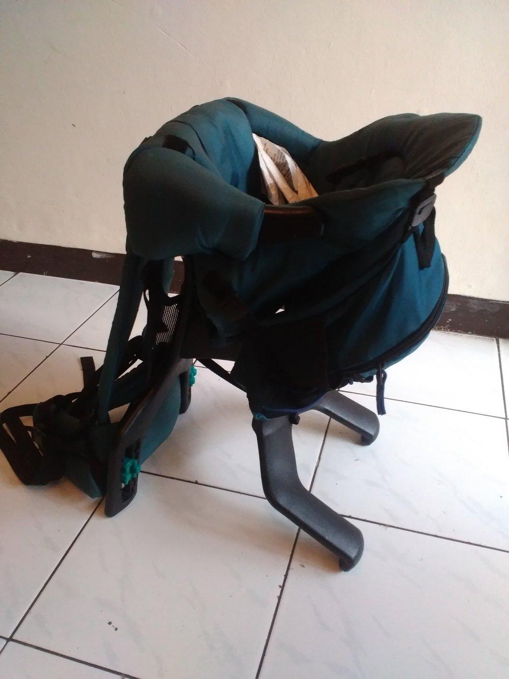 Evenflo trailtech backpack carrier manual