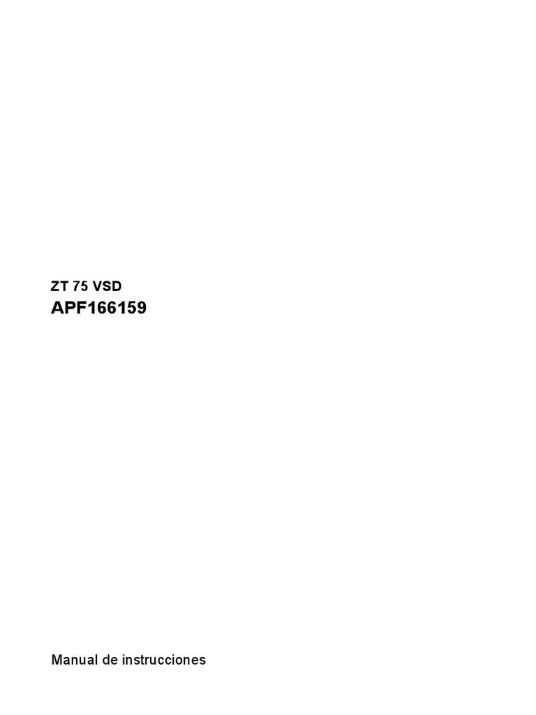 atlas copco zt 15 manual