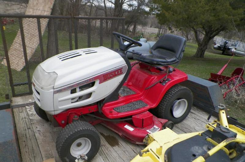 Huskee 46 riding lawn mower manual