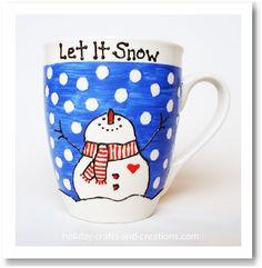 kmart paint your own mug instructions