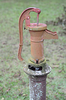 manual water pump how it works