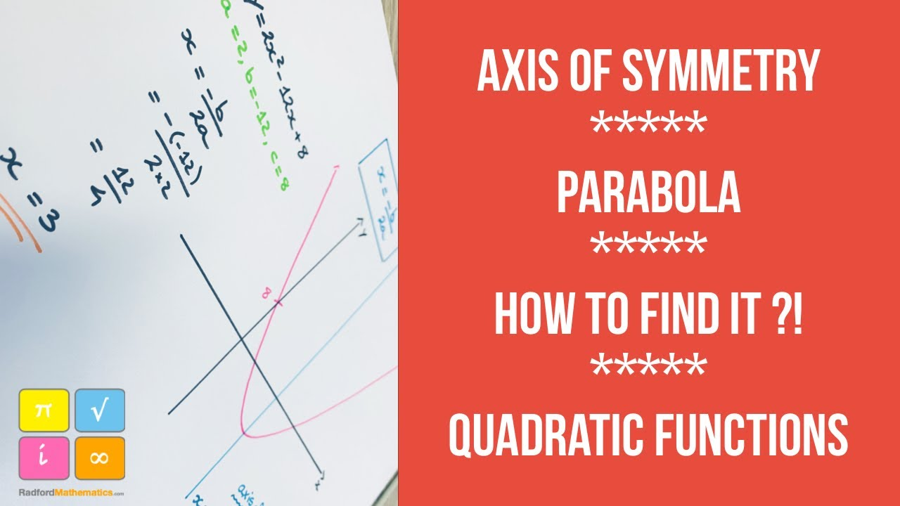 Math how to find of axis of symmtery