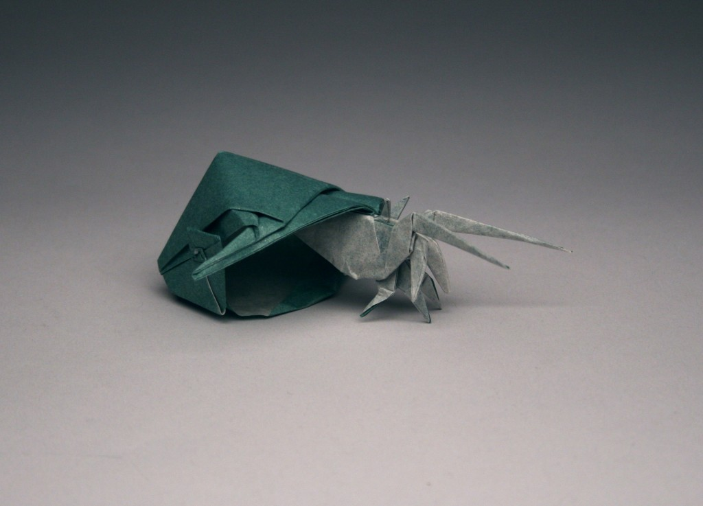 origami hermit crab instructions