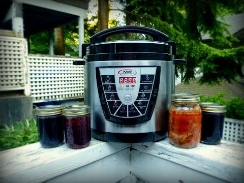 Power pressure cooker canning instructions