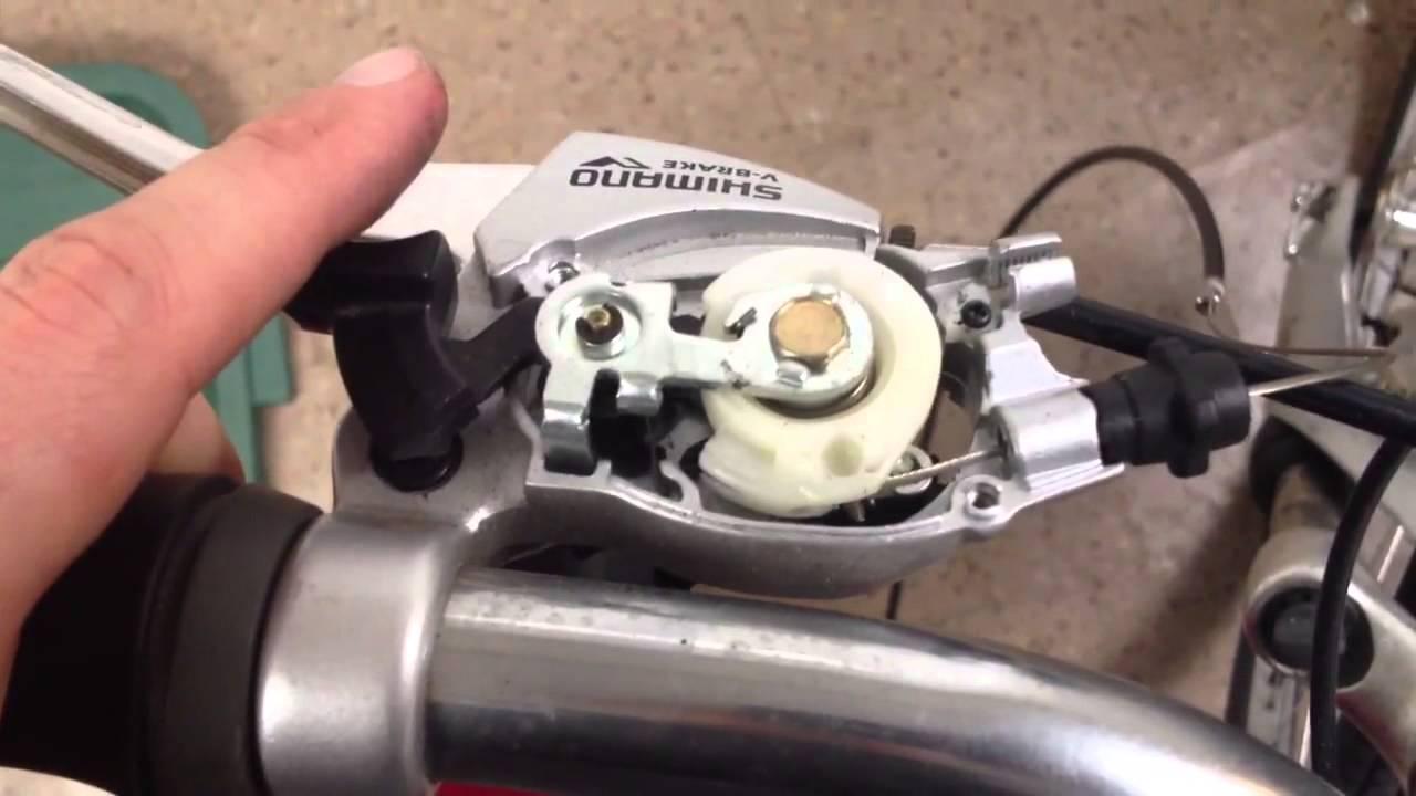 shimano nexus 3 speed shifter manual