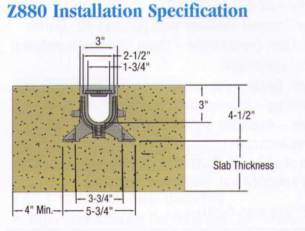 shower grate installation instruction neuaim