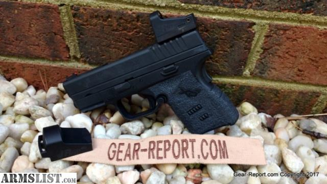 Springfield armory clip guide red dot mount