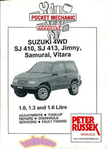 suzuki jimny repair manual free