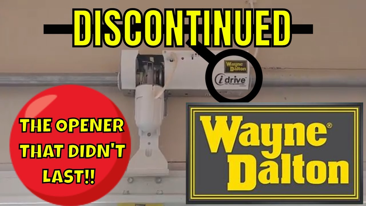 wayne dalton idrive parts manual