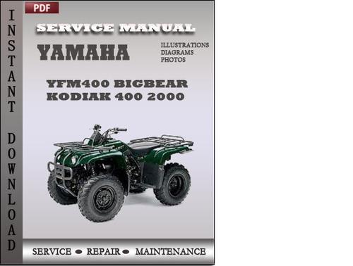 Yamaha kodiak 400 4x4 repair manual